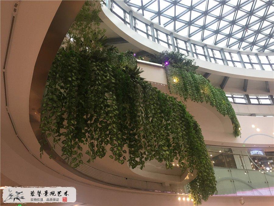 成都蓉馨仿真植物大悦城整体绿植软装